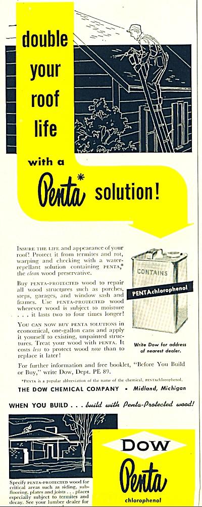 Dow Penta chlorophenol ad  1952 (Image1)