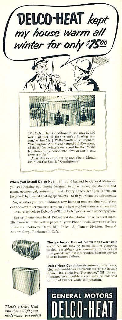 Delco Heat ad 1952 (Image1)