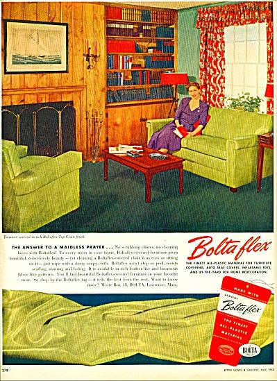 Bolta flex material ad - 1952 (Image1)
