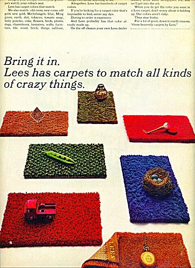 Lees carpets ad - 1965 (Image1)
