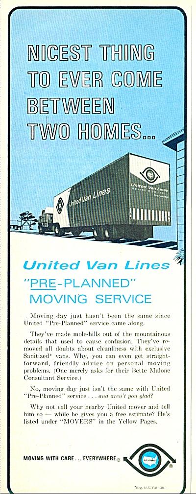 United Van Lines ad - 1965 (Image1)
