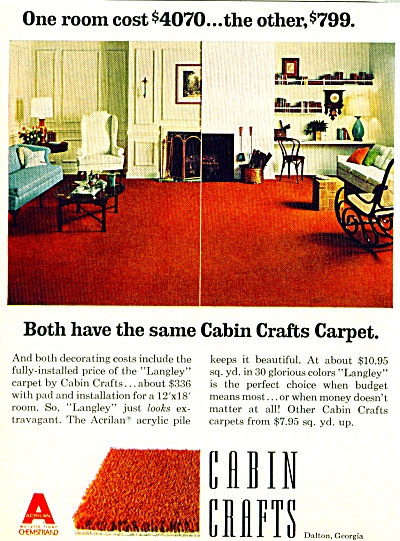 Cabin Crafts ad - 1965 (Image1)