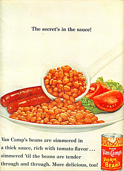 Van Camp's     Pork and Beans  ad = 1965 (Image1)