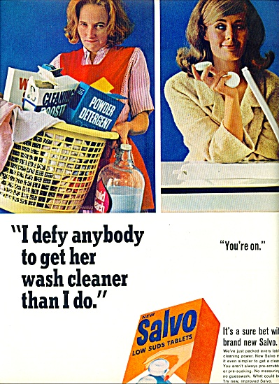 Salvo low suds tablets  ad- 1965 SO SIMPLE (Image1)