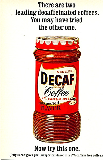 Nestle's decaf coffee - 1965 (Image1)