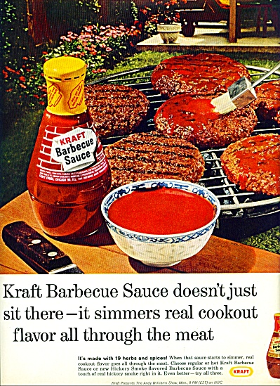 Kraft barbecue sauce ad - 1965 (Image1)