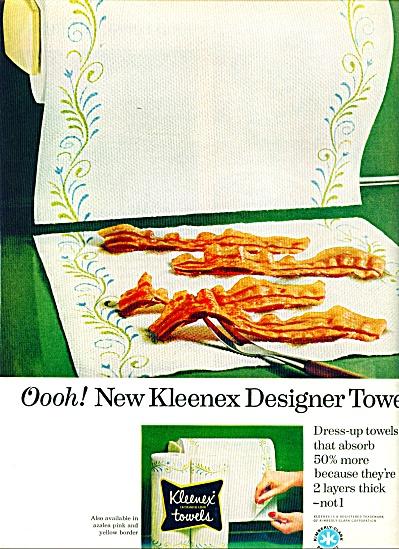 Kleenex towels ad - 1965 (Image1)