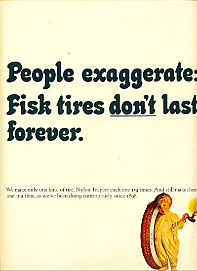 Fisk  tires ad - 1964 (Image1)