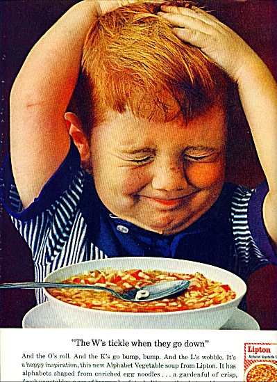 Lipton soup ad  1963 (Image1)