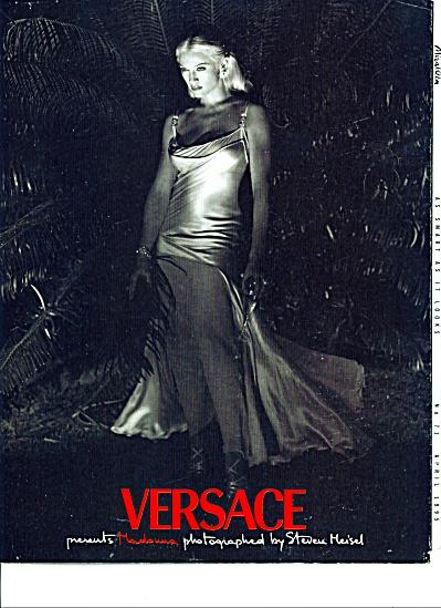 MADONNA Versace presents ad Steven Meisel (Image1)