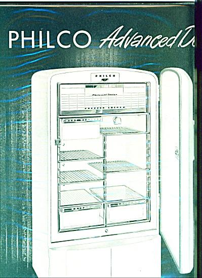 Philco Refrigerator advanced design - 1949 (Image1)