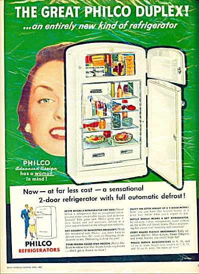 The Great Philco duplex ad - 1951 (Image1)
