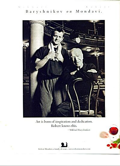 Mikhail Baryshnikov ad (Image1)