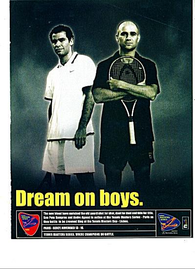 Dream on boys ad - 2000 (Image1)