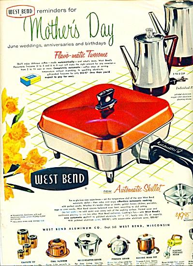 West Bend skillet  ad - 1956 (Image1)