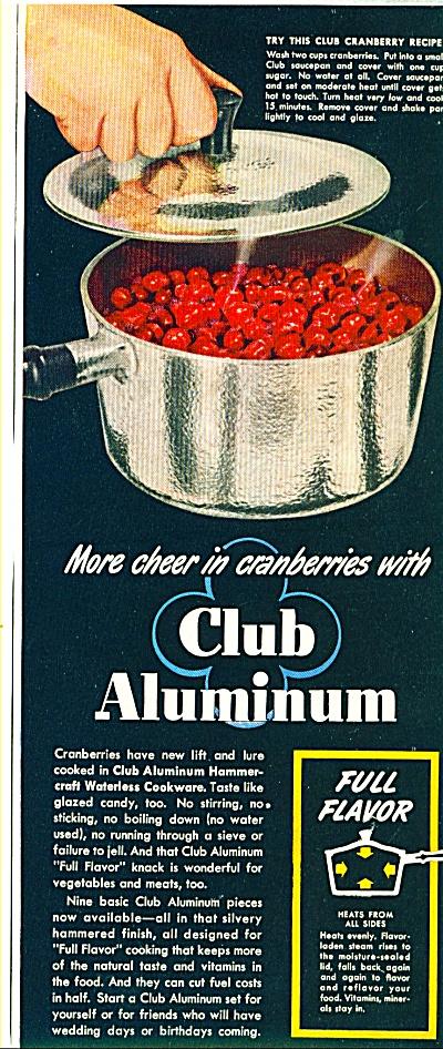 Club Aluminum ad   1946 (Image1)