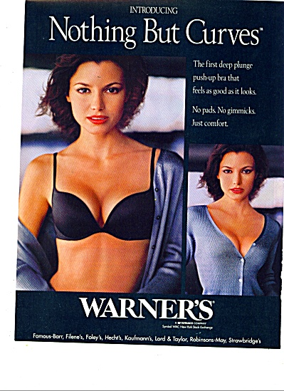 Warner's  Nothing but curves ad (Image1)