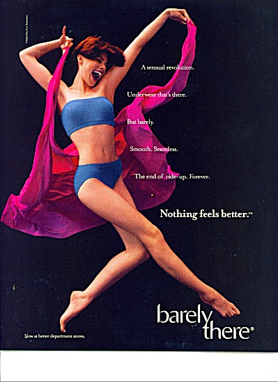 Barely there ad  1989 (Image1)