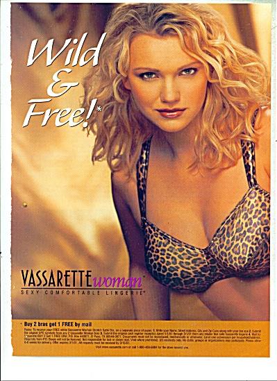 Wild & Free Ad (Vassarette woman) (Image1)