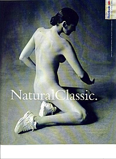 Reebok NUDE WOMAN classic SHOE since 1895 ad (Image1)