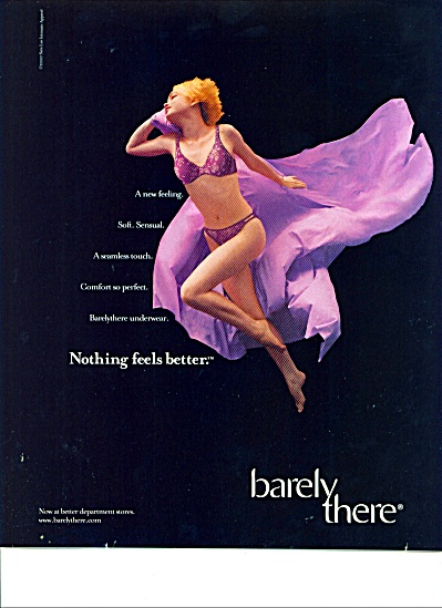 Barely there ad (Image1)