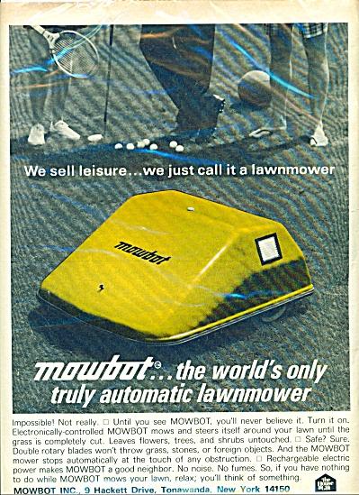 Mowbot Inc., Ad (Image1)