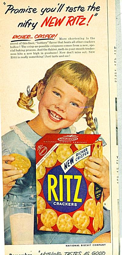 Ritz Crackers ad   1953 (Image1)