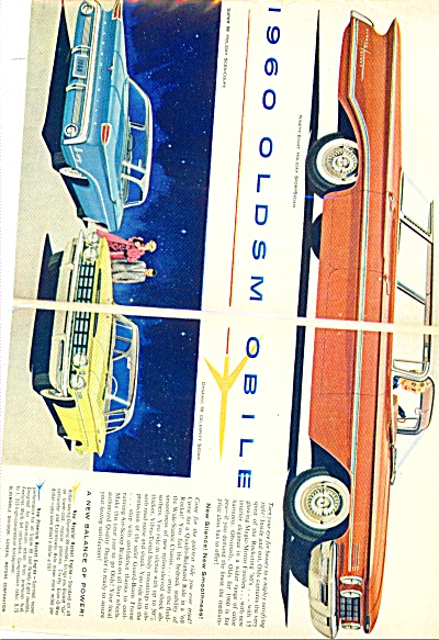 1960 OLDS Oldsmobile Super 88 Holiday ++AD (Image1)