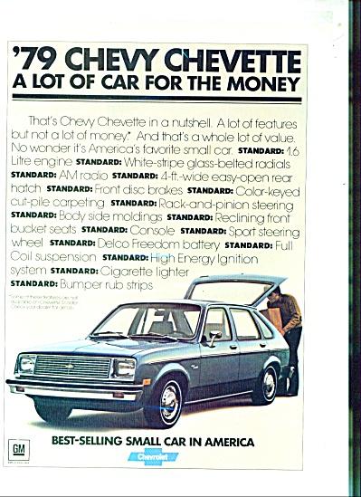 Chevy Chevette automobile ad - 1978 (Image1)