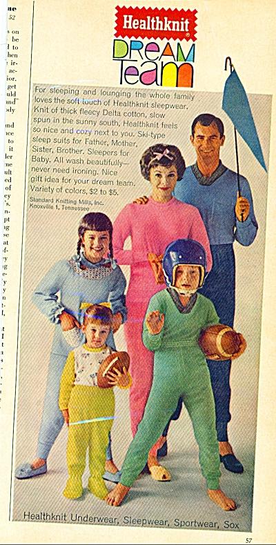 Health Knit dream team ad (Image1)