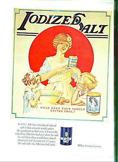 Morton salt ad  -  1969 (Image1)