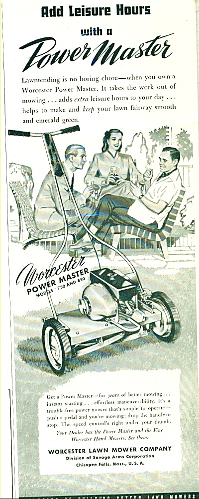 Worcester lawn mower company ad (Image1)