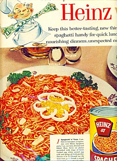 Heinz spaghetti ad (Image1)