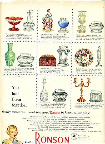 Ronson lighter ad - 1950 (Image1)