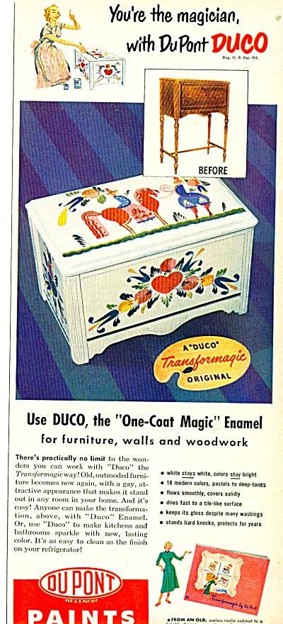 Dupont paints ad - 1950 (Image1)