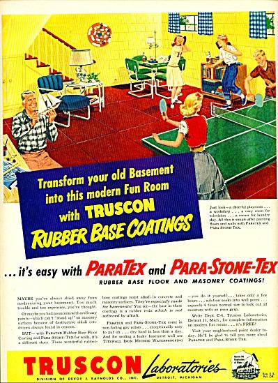 Truscon Laboratories ad - 1950 (Image1)