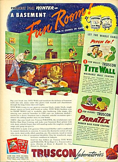 Truscon Laboratories ad   1946 (Image1)