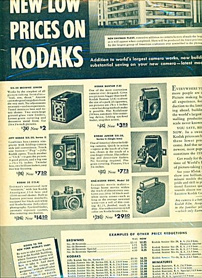 Vintage Eastman Kodak ad Camera Brownie +++ (Image1)