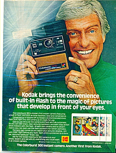 Colorburst 300 instant Kodak camera ad 1978 (Image1)