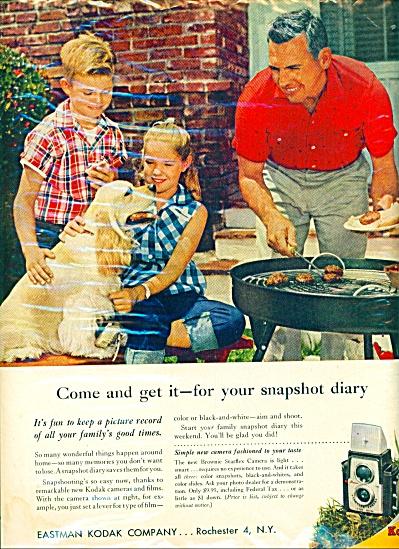 Kodak camera ad - 1957 (Image1)