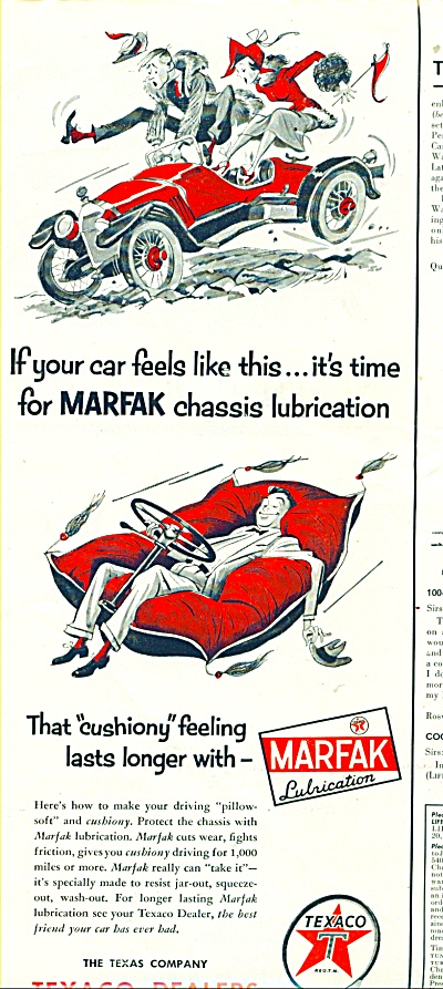 The Texas Company ad - 1954 (Image1)
