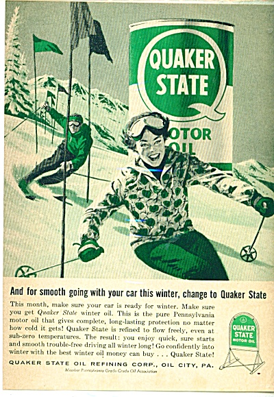 Quaker State motor oil ad (Image1)