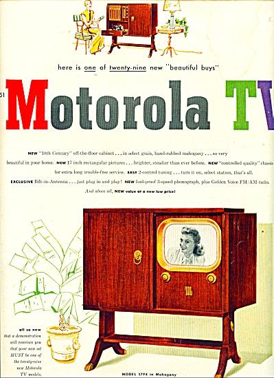 Motorola TV ad    1951 (Image1)