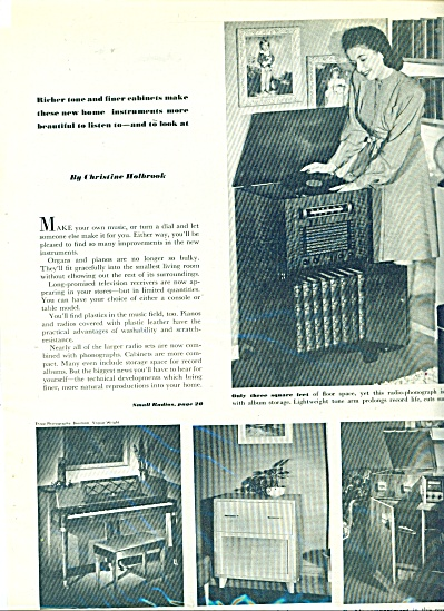 Music Gifts for the family ad  1946 (Image1)