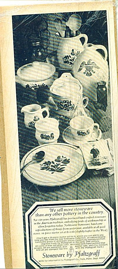 Pfaltzgraff YORKTOWNE Rare Accessories AD (Image1)
