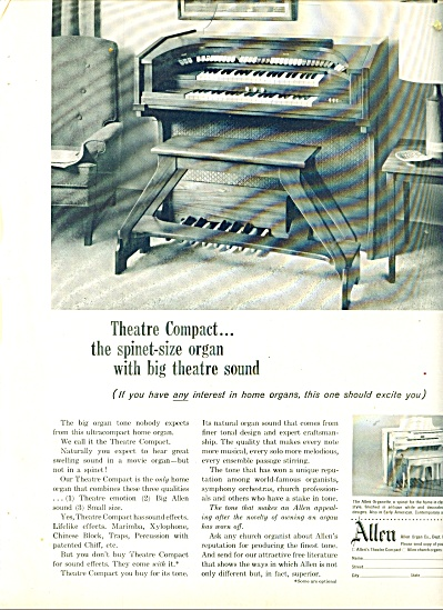 Allen Organ Co. ad (Image1)