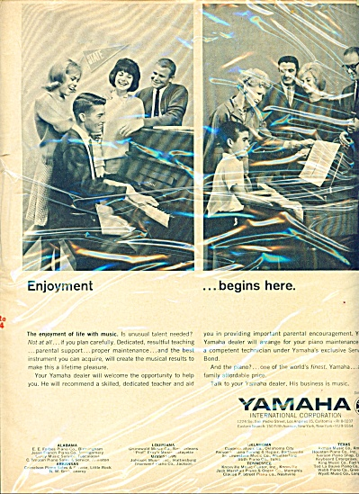 Yamaha International Corporation ad (Image1)