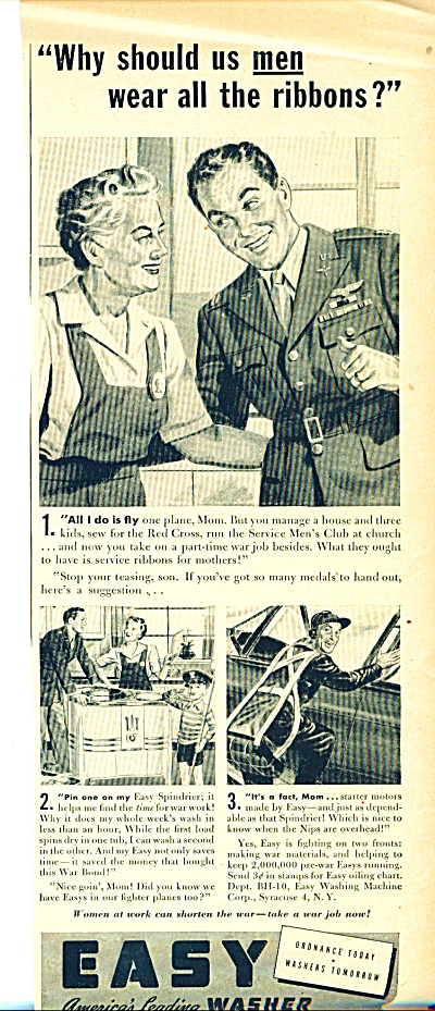 Easy Washer ad  - 40s (Image1)