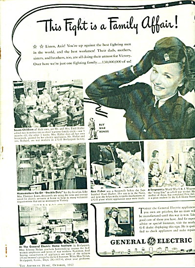 General Electric ad - 1942 MILITARY SOLDIERS (Image1)