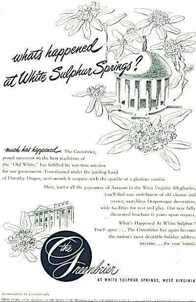 The Greenbrier ad (Image1)